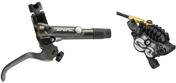 Image of Shimano Saint Bled I-spec-B Compatible Brake with Post Mount Calliper BRM820