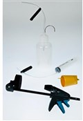 Image of Shimano TL-BT03 Disc Brake Bleeding Kit With Clamp Tool / Funnel, Bottle And Syringe