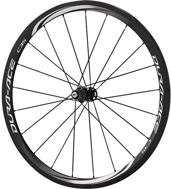 Image of Shimano WH-9000 Dura-Ace C35-TU Carbon Tubular 35mm 11-Speed Rear Road Wheel
