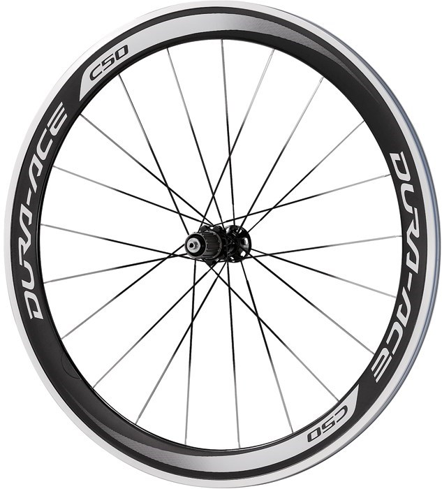 Shimano WH-9000 Dura-Ace C50-CL Carbon clincher 50mm 11-Speed Rear Road Wheel