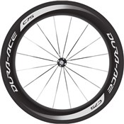 Image of Shimano WH-9000 Dura-Ace C75-TU Carbon Tubular 75mm Front Road Wheel