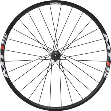 Image of Shimano WH-MT15 XC Wheel, 15 x 100 mm Axle, 27.5in (650B) Clincher, Black, Front