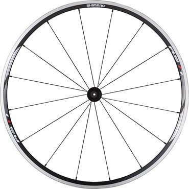 Image of Shimano WH-RS11 Wheel - Clincher 24 mm - Black - Front