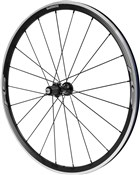 Image of Shimano WH-RS330 Wheel - Clincher 30 mm - 11-Speed - Black - Rear