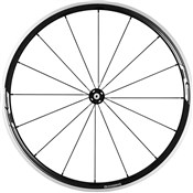 Image of Shimano WH-RS330 Wheel, Clincher 30 mm, Black, Front