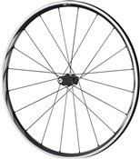 Image of Shimano WH-RS610-TL Wheel - Tubeless Ready Clincher 24 mm - 11-Speed - Black - Rear