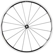 Image of Shimano WH-RS610-TL Wheel - Tubeless Ready Clincher 24 mm - Black - Front