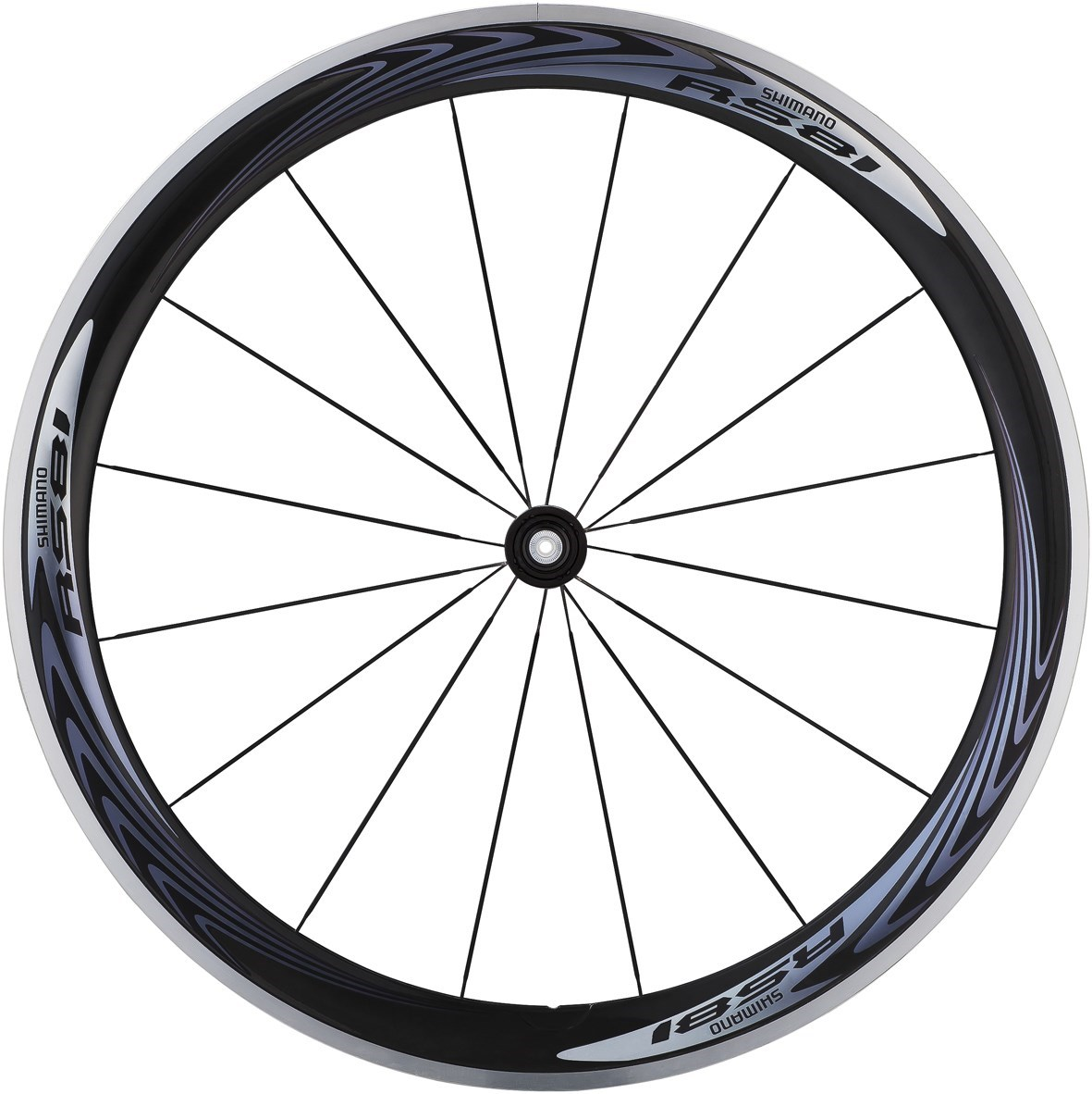 Shimano WH-RS81-C50-CL Wheel - Carbon Clincher 50 mm - Front