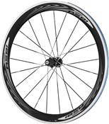 Image of Shimano WH-RS81-C50-CL Wheel - Carbon Clincher - 50mm - Pair