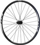 Image of Shimano WH-RX010 Disc Road Wheel, Clincher 24 mm, 11-Speed, Black, Rear