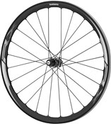 Image of Shimano WH-RX830 Disc Road Wheel - Tubeless Ready Clincher 35 mm - 11-Speed - Rear