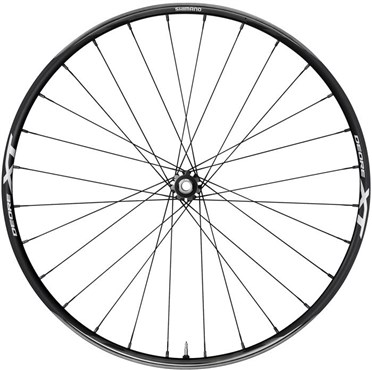 Image of Shimano XT Trail 29 Inch 15 x 100 mm Axle Clincher Front Wheel - WHM8020