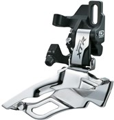 Image of Shimano XTR M981 10 Speed Triple Front Derailleur, Direct Fit, Dual Pull