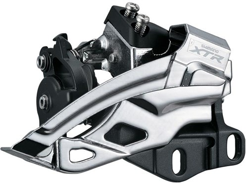 Shimano XTR M985 10 Speed Double E-Type Front Derailleur for 38-40T
