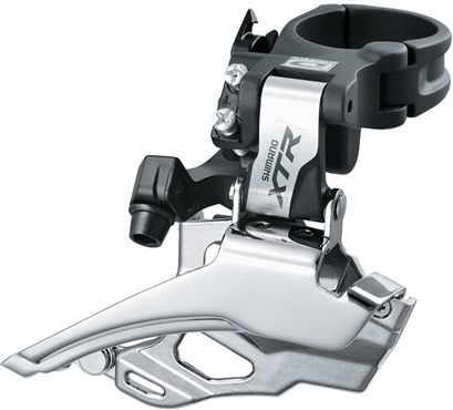 Image of Shimano XTR M986 10 Speed Double Front Derailleur Conventional Swing Dual Pull