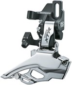 Image of Shimano XTR M986 10 Speed Double Front Derailleur Direct Fit Dual Pull