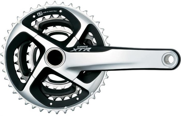 Image of Shimano XTR Trail M980 10 Speed Triple Chainset