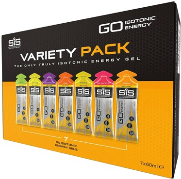 Image of SiS GO Isotonic Gel Variety Pack - 60ml x Box of 7