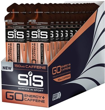 Image of SiS GO Plus Caffeine Gel - 60ml x Box of 30