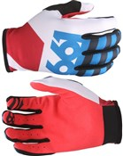 Image of Sixsixone 661 Comp Lines Long Finger Cycling Gloves SS17