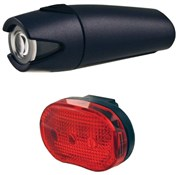 Image of Smart 4 Lux Front with 3 LED Rear Light Set