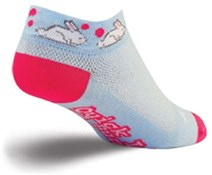 "Image of SockGuy 1"" Bunny Quick Womens Socks"