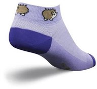 "Image of SockGuy 1"" Porcupine Womens Socks"