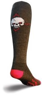 "Image of SockGuy 12"" Wool Red Eye Knee High Socks"