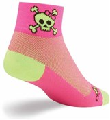 "Image of SockGuy 2"" Skull Pop Womens Socks"