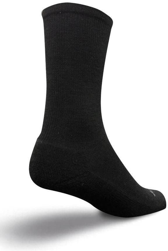 "SockGuy 6"" Mr Black Sox Wooligan Socks"
