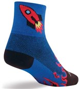 "Image of SockGuy Classic 3""  Socks - Rocket Man"