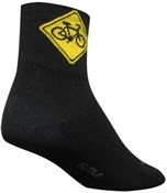 "Image of SockGuy Classic 3"" Socks - Share Black"