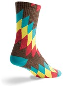 "Image of SockGuy Crew 6"" Wool Chief Socks"
