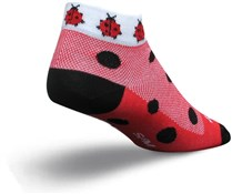 Image of SockGuy Low Cut Lady Bug Womens Socks