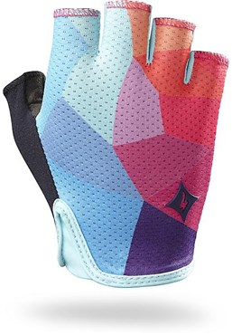 Image of Specialized Body Geometry Grail Womens Short Finger Cycling Gloves 2015