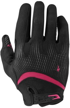 Specialized BodyGeometry Gel Womens Long Finger Cycling Gloves AW16