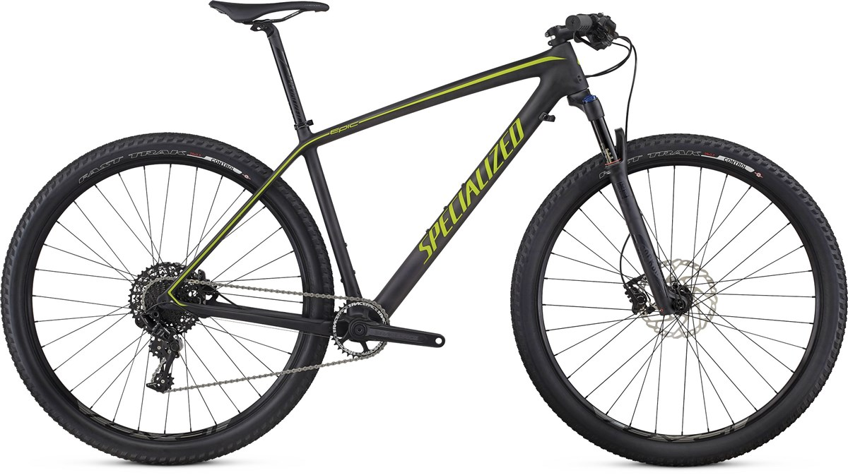 Specialized Epic Hardtail Comp Carbon World Cup 29er 2017 Mountain Bike