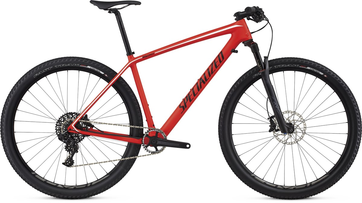 Specialized Epic Hardtail Expert Carbon World Cup 29er 2017 Mountain Bike