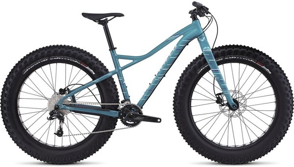 Image of Specialized Hellga Comp Womens 2017 Fat Bike - Mountain Bike