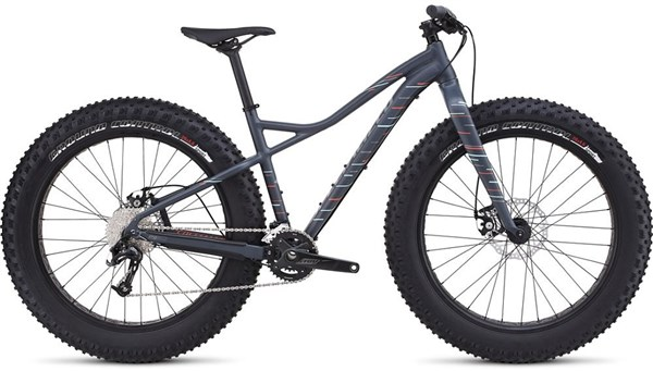 Image of Specialized Hellga Womens 2017 Fat Bike - Mountain Bike