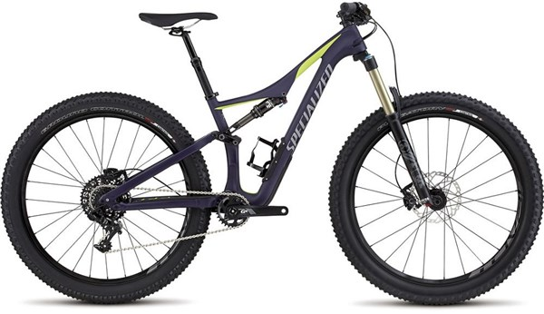 "Image of Specialized Rhyme FSR Comp Carbon 6Fattie Womens  27.5"" 2017 Mountain Bike"