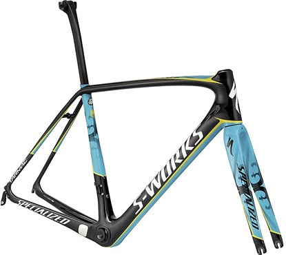 Image of Specialized S-Works Tarmac Astana Team Frameset 2017