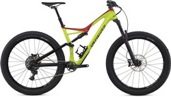 "Image of Specialized Stumpjumper FSR Comp Carbon 6Fattie 27.5"" 2017 Mountain Bike"