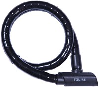 Image of Squire Mako Armoured Cable Lock - Sold Secure Silver