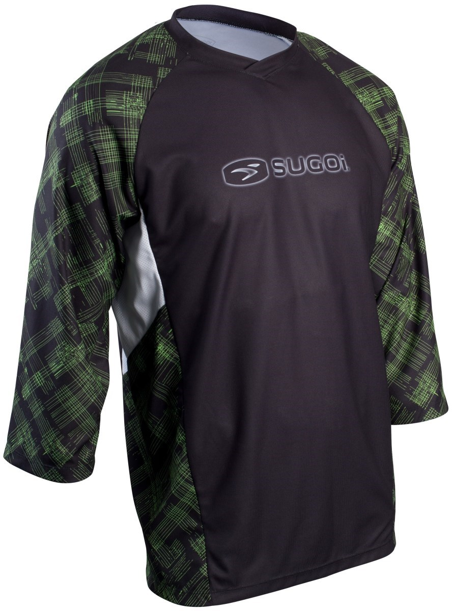 Sugoi Scratch 3/4 Sleeve Cycling Jersey