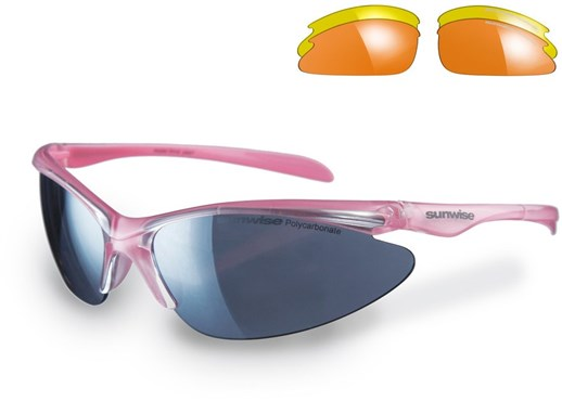 Sunwise Thirst Petite Glasses With 3 Interchangeable Lenses