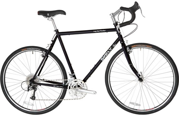 Image of Surly Long Haul Trucker 26w 10 Speed - Ex Display 2016 Hybrid Bike