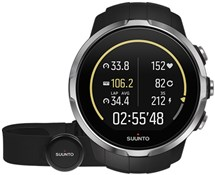 Image of Suunto Spartan Sport Black (HR) Heart Rate and GPS Touch Screen Multi Sport Watch