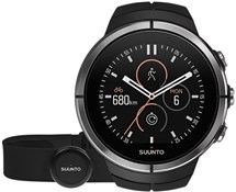 Image of Suunto Spartan Ultra Black (HR) Heart Rate and GPS Touch Screen Multi Sport Watch