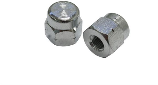 "Image of Tacx Axle Nuts For Non-Q/R Wheels 3/8"" (pair)"